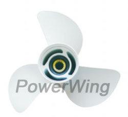Aluminio Powerwing hélice fuera de borda para Yamaha Motor 60-130cv