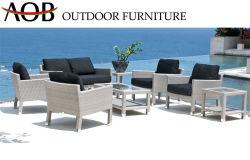 Meubles de jardin en plein air Hotsale canapé en rotin Salon de jardin en osier Poolside Leisure canapé en coupe