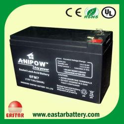 Verzegelde Lead Acid UPS Battery 12V 7ah (ea-12-7)