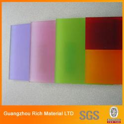 Tom de cor Plexiglass Folha a folha de PMMA acrílico Perspex