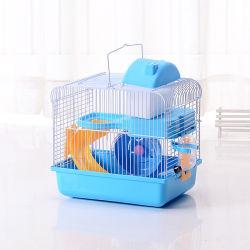 De draagbare Cabine van de Uitdaging van de Sleep van de Habitat van de Kooi van de Hamster Tengere Extreme, Agent, Ketel, Kom, Dia, de Kooi Esg12576 van het Toevluchtsoord van de Rat van het Huisdier van de Drinker