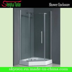 Canto de fibra de vidro temperado Chuveiro de Vapor (TL-529)