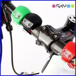 Silicon мини-LED велосипед защитная световая предупредительная лампа