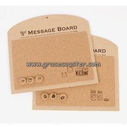 Square Mémo Cork board