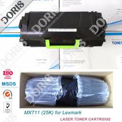 Mx711 Cartucho de tóner Lexmark MX511 MX410 MX811 MS410 MS415.