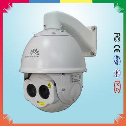 Сетевые PTZ ИК лазер с помощью высокоскоростных купольных камер ночного видения для 300m
