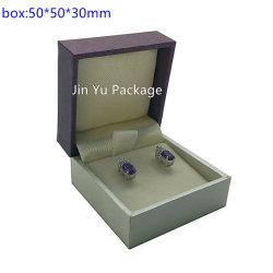 [ج-جب45] عالة ورقة جلد مجوهرات خشبيّة يعبّئ صندوق من حلقة حلق ساعة عقد [ستورج بوإكس] حالة بيع بالجملة