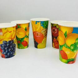 Tazza di carta a gettare fredda della tazza 8oz 10oz 12oz 16oz della bevanda con i coperchi