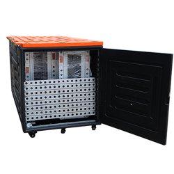 Tianyu Profissional de fábrica de alumínio de ar personalizado para exposições feiras caso de Voo