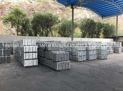 亜鉛合金のインゴットZamak 2# 3# 5#/主にダイカストで形造る合金電池工業に使用する標準亜鉛インゴット99.995%