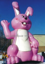Kaninchen-Ballone, kundenspezifische aufblasbare Reklameanzeige (K2033)