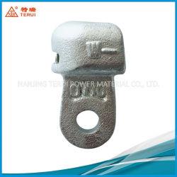 Galvanizado en caliente de acero de fundición de aislante de enlace de la Toma de montaje de la lengua y la horquilla