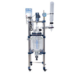 Jacket Layerの大きいScale 200 Liter Glass Reactor