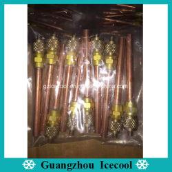 """1/4"""" 117 мм длины загрузочный клапан/клапан доступа/Контактный клапан/игольчатый клапан для кондиционера или холодильник"""