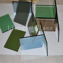 4mm-12mm Azul tintado de color verde oscuro bronce claro cristal reflectante
