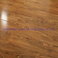 Вощеная края HDF деревянный ламинированный пол Китай экспорт на заводе