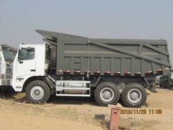 Sinotruk camiones volquete de minería de 70 toneladas para la venta en Mina