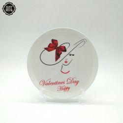 Las mercancías de importación desde China Impresión Creativa cerámica taza de café de regalo promocional juego de té