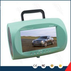 Commerce de gros joueur 7.5inch LCD TV USB de qualité coloré Boombox lecteur de DVD portable