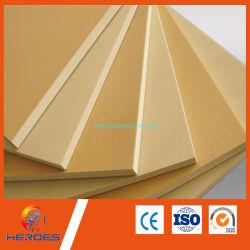 Anuncio de hojas de PVC de alta densidad de Sintra Panel PVC blanco de los materiales de construcción