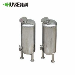 Filtro de arena de acero inoxidable de la caja del filtro ablandador Depósito /