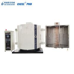 De Machine van de VacuümDeklaag van het Aluminium van Cicel/de Verchromende Apparatuur van de Deklaag/Installatie van de Kleur van de Verdamping de Gouden