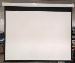 HD écran électrique fixé au mur pour Home Cinéma