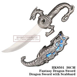 Fantasy Dragon Sword Dragon Sword com espada 36 HK8501