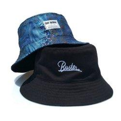 형식 Fishierman 모자 중국 면 2 주문 레이블 로고를 가진 옆 물통 모자