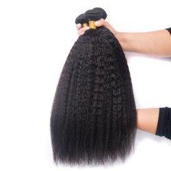 Горячая продажа Kinky прямой Virgin человеческого волоса расположен возле Fummi волос