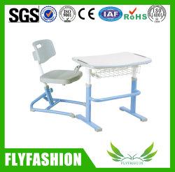 Scrittorio registrabile dell'allievo della mobilia dell'aula di altezza con la presidenza di plastica per il banco (SF-18S)