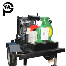 Bonne qualité à haute efficacité fin d'aspiration pompe à eau Diesel centrifuge