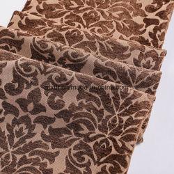 Nouvelle usine d'arrivée des prix bon marché tissé tissu chenille de Dubaï pour la maison et le rideau