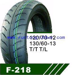 Pneu tubeless de haute qualité moto 130/60-13 120/70-12, etc