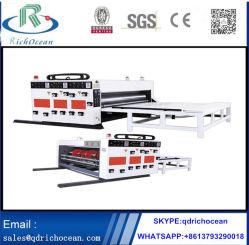 Agua semiautomática máquina de impresión de tinta Caja de cartón máquina de impresión