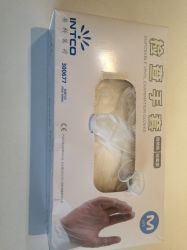 Luvas de exame de PVC de nitrilo descartáveis / Monouso Guanti da Visita em PVC \Luvas de nitrilo nitrilo