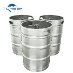 Barile di birra dell'acciaio inossidabile del barilotto di birra del metallo di standard europeo 15L 20L 30L 50L