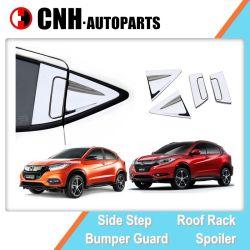 Chrome o empuñadura de puerta lateral de fibra de carbono insertos y tapas para Honda HR-V 2014, 2020 Vezel