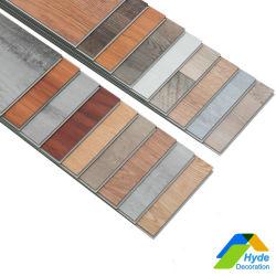 Wasserfestes Unilin Click Stone Plastic Tile Marble Design, wasserdicht aus Holz, Schnellinstallation, PVC Vinyl Plank Bodenbelag, Spc-Boden