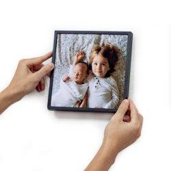 Doe-het-zelf Retickable Huis Decor vierkante Tegels verwijderbare Plastic fotolijst