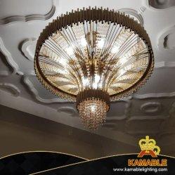 Декоративные отель проекта из нержавеющей стали хрустальная люстра пульт управления освещением (КА777-D920)