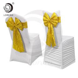 Boda Lorero fabricante de muebles de diseño del nuevo Presidente de Spandex cubrir con la guillotina