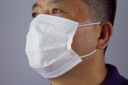 Beschermingsmasker voor eenmalig gebruik, 3-laags met smelt-blown stof en non-woven 3-laags Face Mask PM 2.5 Fabrikanten beste prijs