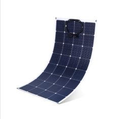 Новые поступления SunPower 100W 18V алмазные гибкие панели солнечных батарей для 12V в системе аккумулятора