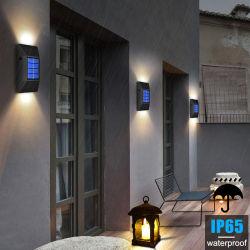 Lampada da parete solare esterna decorativo cortile cortile casa lampada da parete Lampada da parete decorativa per esterni impermeabile