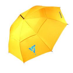 최상 관례는 우산, 똑바른 비 우산을 광고하는 승진에 의하여 배출된 골프 우산 상표를 붙였다