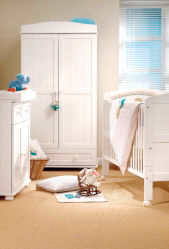 Juego de dormitorio moderno NIÑOS Guardería Niño Niño fabricante de la cuna de literas para niños Cama de bebé lactante Home