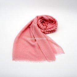 Sciarpa tessuta poliestere molle di base della stampa della banda di stile per le donne