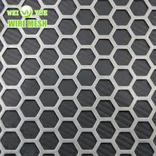 1.5mm 육각형 구멍 방벽 천공 시트