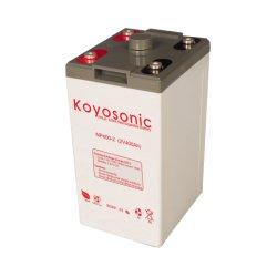 110V Stationaire Batterij van de Batterij van het Lood van de Bank 2V 400ah van de Batterij van gelijkstroom de Zure 110V